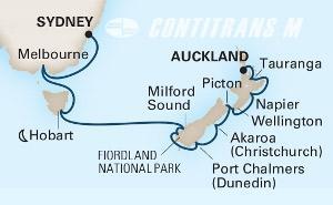 Australia & New Zealand 14 day on Noordam
