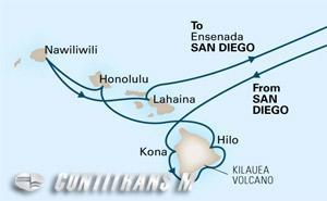 Circle Hawaii 18 day from San Diego on Eurodam
