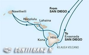 Circle Hawaii 17 day from San Diego on Eurodam
