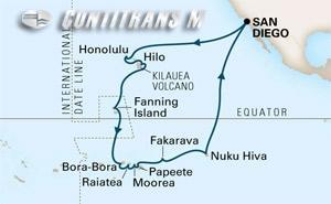 Hawaii, Tahiti, Marquesas on Eurodam