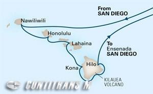 Circle Hawaii 16 day from San Diego on Eurodam