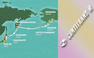 QS 13-NIGHT ALASKA TO JAPAN VOYAGE