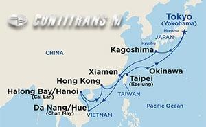 China, Taiwan & Vietnam on Diamond