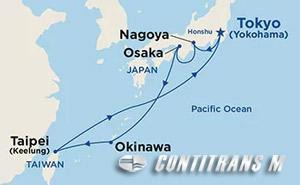 Japan & Taiwan (from Tokyo) on Diamond