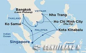 Southeast Asia on Diamond