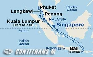 Malaysian Peninsula & Indonesia Holiday on Diamond
