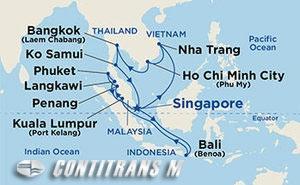 Southeast Asia Holiday on Diamond