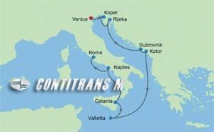 CS 9 NIGHT DALMATIAN COAST & ITALY CRUISE