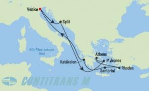 CS 9 NIGHT GREEK ISLES CRUISE