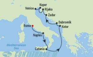 CS 9 NIGHT ITALY & DALMATIAN COAST CRUISE