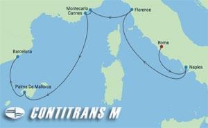 EG 7 NT ITALY,FRANCE,MONACO & SPAIN CRUISE