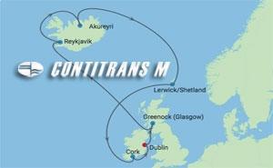 RF 10 NIGHT IRELAND & ICELAND  CRUISE