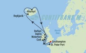 SI 14 NIGHT ICELAND & IRELAND CRUISE