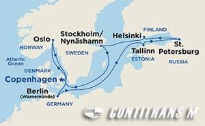 Baltic Capitals II on Regal