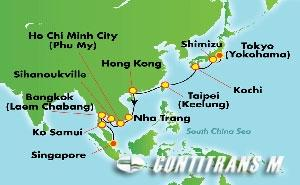 Asia - East Asia (YOK/SIN)