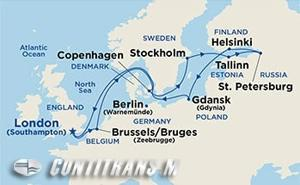 Baltic Capitals on Sapphire