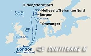 Norwegian Fjords II on Sapphire