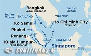 Malaysia, Thailand & Vietnam 12 day on Sapphire