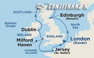 Ireland, Scotland & Wales on Pacific