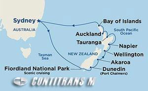 New Zealand 13 day on Majestic