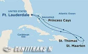 Eastern Caribbean III on Caribbean Princess