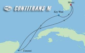 IN 5 NIGHT WESTERN CARIBBEAN CRUISE