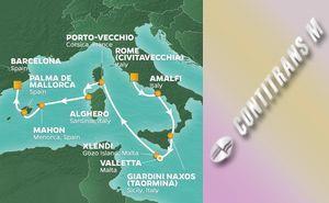 PR 10-NIGHT ISLANDS OF THE MED VOYAGE