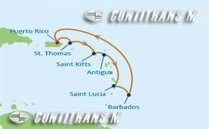 SM 7 NIGHT SOUTHERN CARIBBEAN  CRUISE