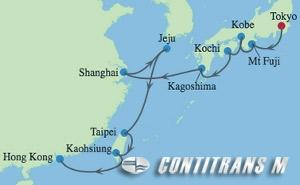 ML 14 NIGHT JAPAN, CHINA & TAIWAN CRUISE