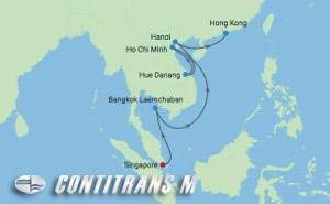 ML 14 NIGHT SOUTHEAST ASIA HOLIDAYS CRUISE