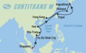 ML 14 NIGHT TAIWAN, VIETNAM, JAPAN CRUISE