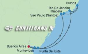 EC 14 NIGHT ARGENTINA, RIO AND URUGUAY