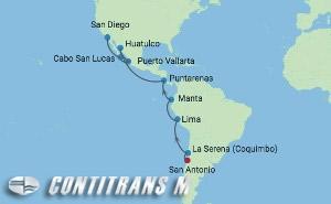 EC 15 NIGHT CHILE TO SAN DIEGO CRUISE
