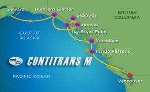 RD 7 NGTS SOUTHBOUND ALASKA&HUBBARD GLACIER
