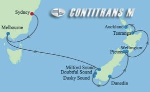 SL 12 NIGHT NEW ZEALAND CRUISE