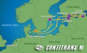 SR 8 NIGHT SCANDINAVIA AND RUSSIA CRUISE