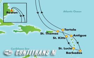 Southern Caribbean - Boston (BOS/BOS)