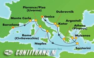 Greek Isles & Italy (BCN/VCE)