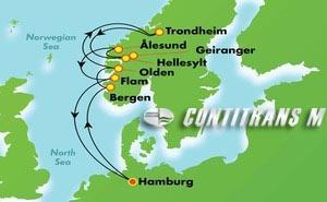 EUROPE - NORWEGIAN FJORDS (HAM/HAM)