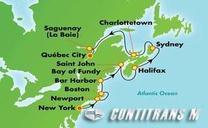 Canada & New England - New York (NYC/QUE)