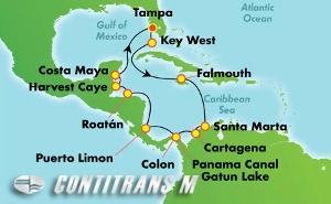 PANAMA CANAL - TAMPA (TPA/TPA)