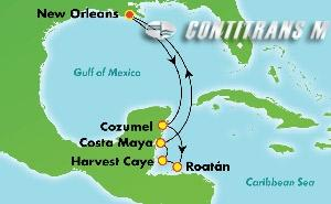 Western Caribbean - New Orleans (MSY/MSY)