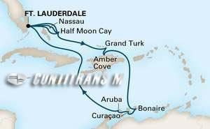 Southern Caribbean on Nieuw Statendam