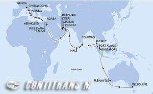 Australia, Singapore, Malaysia, Thailand, Sri Lanka, Maldives, United Arab Emirates, Oman, Jordan, Egypt, Greece, Italy