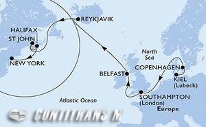 Germany, Denmark, United Kingdom, Iceland, Canada, United States