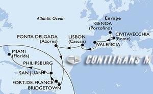 Italy, Spain, Portugal, Barbados, Martinique, St. Maarten, Puerto Rico, United States