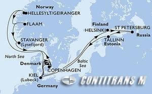 Germany, Denmark, Finland, Russian Federation, Estonia, Norway