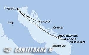 Italy, Montenegro, Croatia
