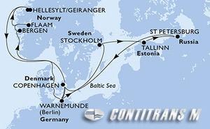 Denmark, Germany, Sweden, Estonia, Russian Federation, Norway