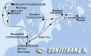 Denmark, Germany, Sweden, Finland, Russian Federation, Norway
